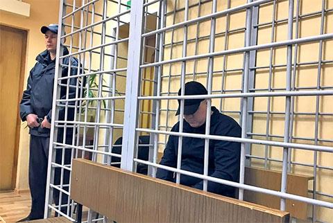 Дмитрий Лифинский в суде