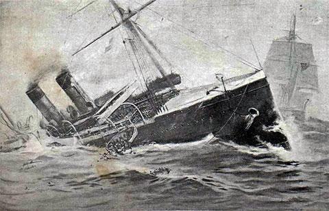 Крушение лайнера «Ла Бургонь»