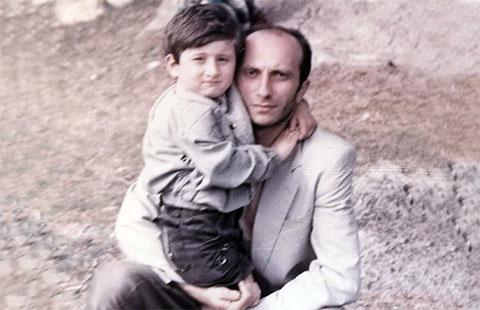Вор в законе Тимур Хатискаци с сыном Вахо