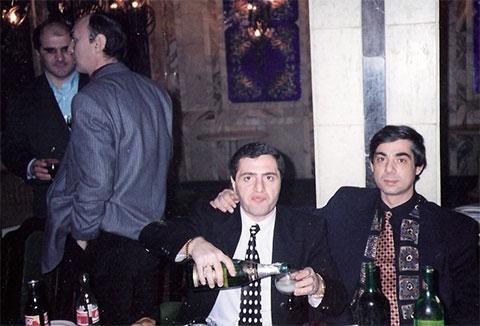 Слева воры в законе: Мириан Мамедов (Мирон), Тамаз Корошинадзе (Тамаз Тбилисский), Мераб Асанидзе (Чикора) и Рауль Кирия