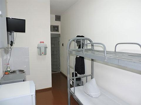 Камера в Минусинской тюрьме
