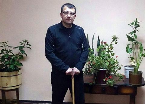 Вор в законе Радик Шафигуллин в ИК-14; Тогучин