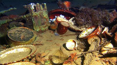 Предметы на Титанике
