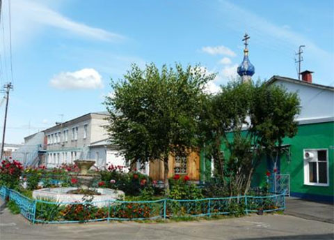 Территория колонии строгого режима в Костроме