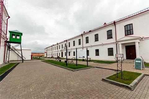 Внутренний двор Тобольской тюрьмы