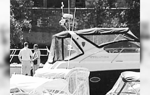 На этом катере Игорь Ильченко провел последние минуты жизни