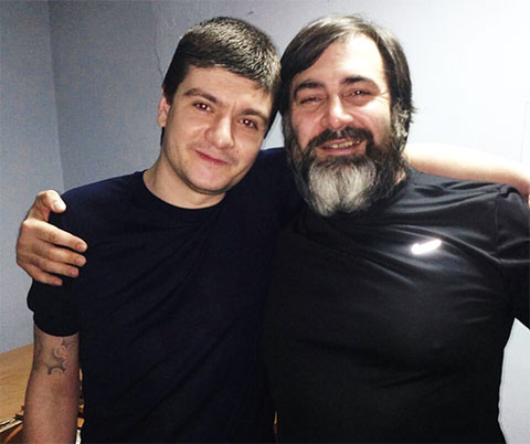 Слева воры в законе: Гайк Саркисян (Айко Астраханский) и Ислам Эдильгиреев (Ислам Большой