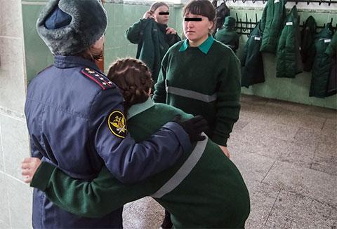 Томская колония для несовершеннолетних девочек