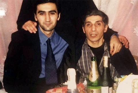 Слева воры в законе: Реваз Кахмазов (Резо Лоткинский) и Константин Калашян (Котик)