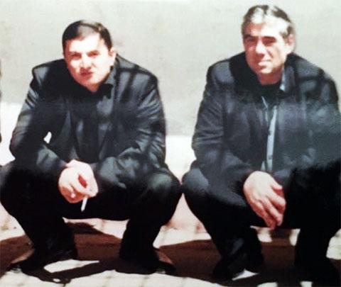 Слева воры в законе: Надир Салифов (Лоту Гули) и Рауль Кирия (Рауль Руставский)