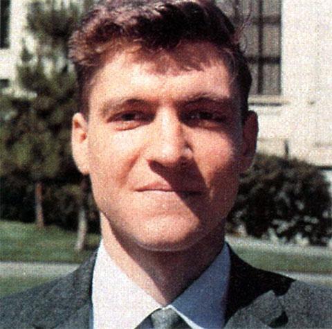 Теодор Казински в молодости