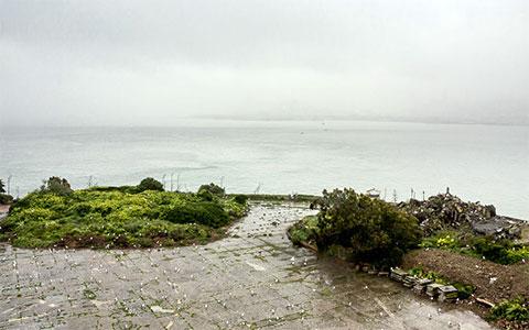Вид на море со стороны острова Алькатрас