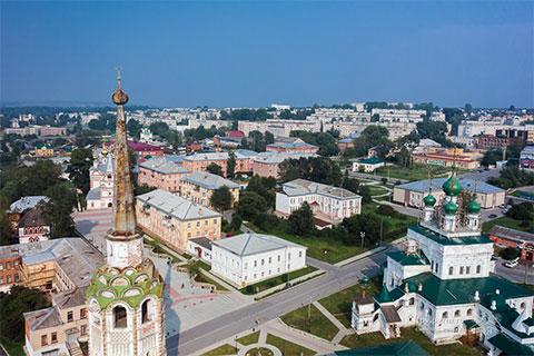 Город Соликамск