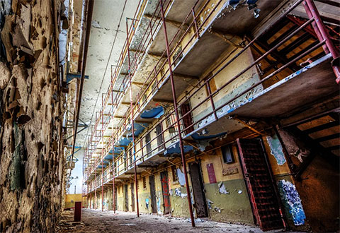 Внутри тюрьмы в штате Теннесси