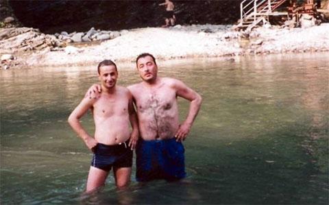 Слева воры в законе: Николай Шалибашвили (Кока) и Важа Биганишвили (Важа Тбилисский)