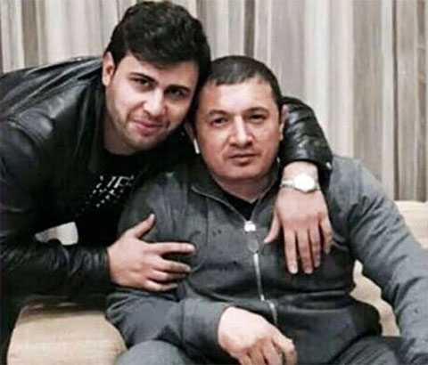 Справа: вор в законе Надир Салифов - Лоту Гули