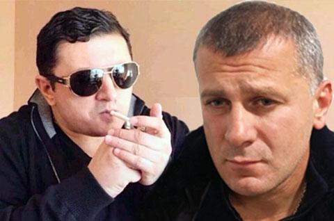 Слева воры в законе: Надир Салифов (Лоту Гули) и Гела Кардава (Гела Гальский)