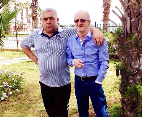 Слева воры в законе: Владимир Жураковский (Вова Пухлый) и Мераб Мзарелуа (Дуяке)