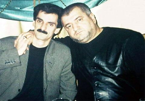 Слева воры в законе: Алибала Гамидов (Годжа Бакинский) и Мирсеймур Абдуллаев (Сеймур Нардаранский)