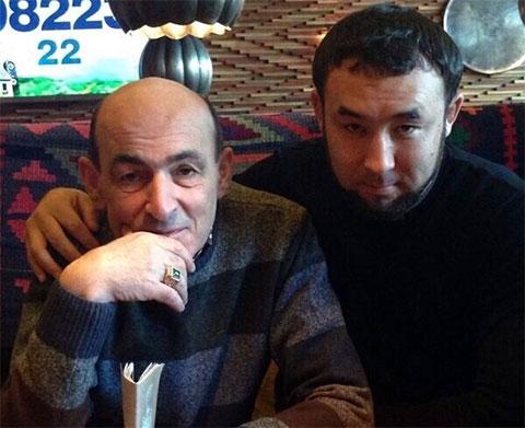 Слева воры в законе: Темури Мирзоев (Тимур Свердловский) и Улан Токтосунов (Сакал)
